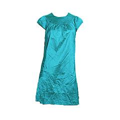 Satin dress, Calypso Christiane Celle, $89.