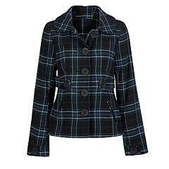 Plaid jacket, Full Tilt, $40; tillys.com