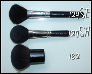 MAC 129 brush Colour Ready