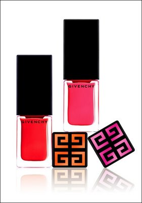 Vernis Please! in Maharani Tangerine and Maharani Pink